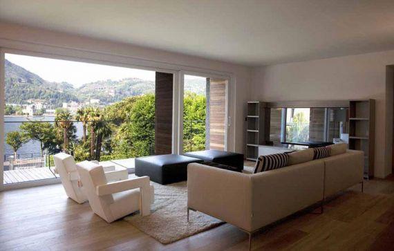 Апартаменты у озера Комо, Италия, 272 м2 - фото 1