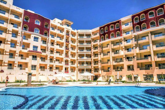 Апартаменты в Хургаде, Египет, 44 м2 - фото 1