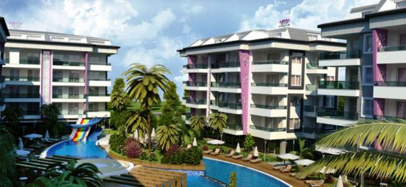 Апартаменты в Аланье, Турция, 52 м2 - фото 1