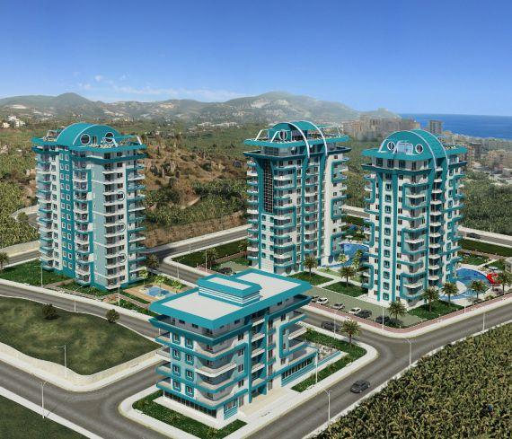 Апартаменты в Аланье, Турция, 43 м2 - фото 1