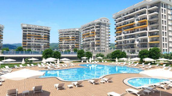 Апартаменты в Аланье, Турция, 31 м2 - фото 1