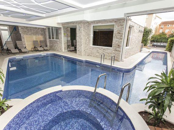 Отель, гостиница в Будве, Черногория, 1450 м2 - фото 4