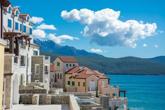 Апартаменты на полуострове Луштица, Черногория, 120 м2 - фото 1