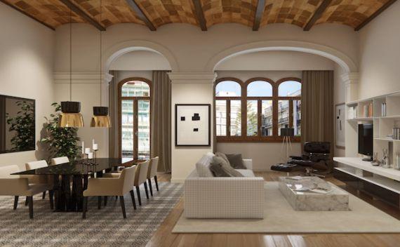 Апартаменты в Барселоне, Испания, 171 м2 - фото 1