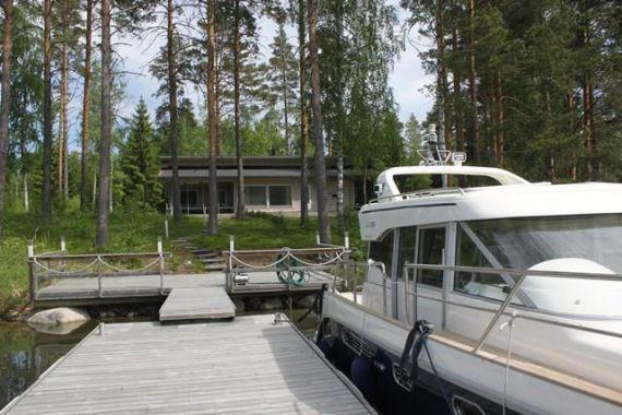 Коттедж в Пункахарью, Финляндия, 119 м2 - фото 1
