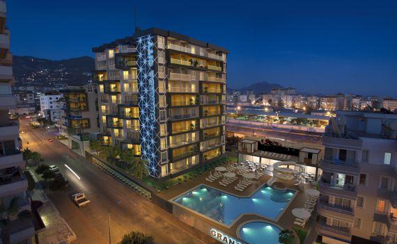 Апартаменты в Аланье, Турция, 45 м2 - фото 1