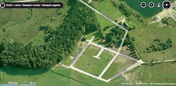 Земля в Саласпилсском крае, Латвия, 1200 м2 - фото 1