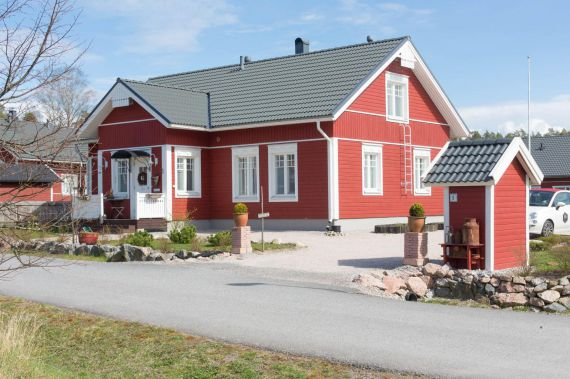 Коттедж в Турку, Финляндия, 1217 м2 - фото 1