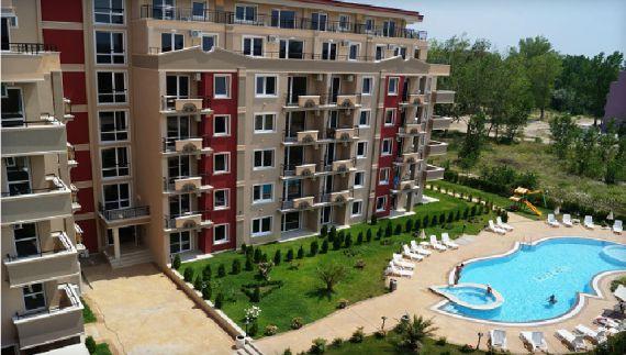 Апартаменты на Солнечном берегу, Болгария, 45 м2 - фото 1