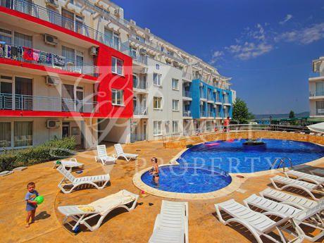 Квартира на Солнечном берегу, Болгария, 44 м2 - фото 1