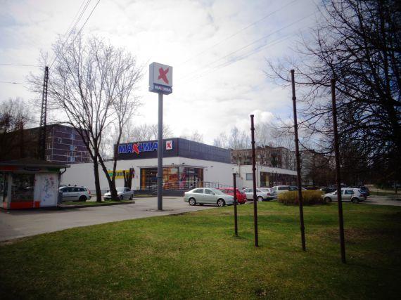 Магазин в Риге, Латвия, 2497 м2 - фото 1