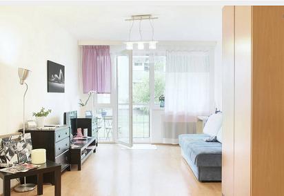 Апартаменты в Праге, Чехия, 59 м2 - фото 1