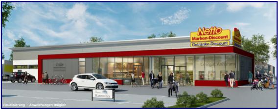 Магазин в Саксонии-Анхальт, Германия, 1137 м2 - фото 1