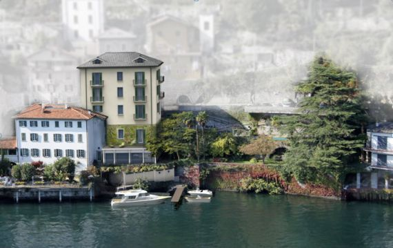 Инвестиционный проект у озера Комо, Италия, 754 м2 - фото 1