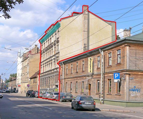 Инвестиционный проект в Риге, Латвия, 1120 м2 - фото 1