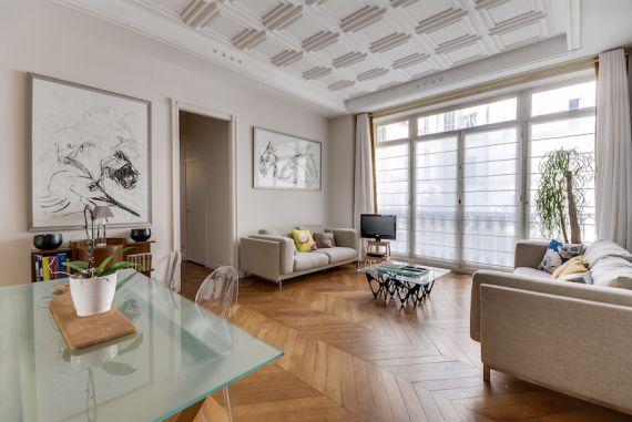 Апартаменты в Париже, Франция, 105 м2 - фото 1