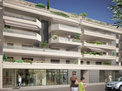 Апартаменты в Антибе, Франция, 52 м2 - фото 1