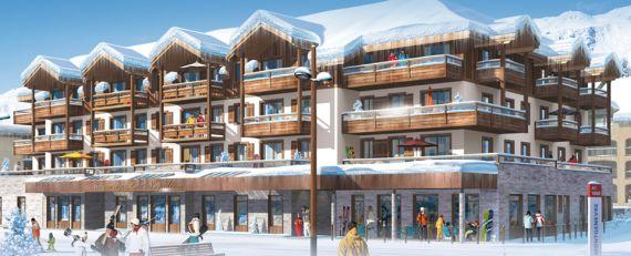 Апартаменты в Шамони, Франция, 34 м2 - фото 1