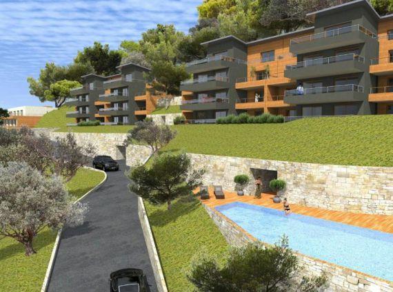 Апартаменты на Кап-Мартен, Франция, 23 м2 - фото 1