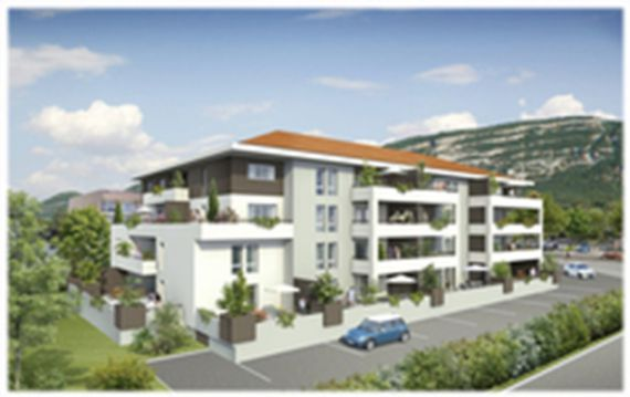 Апартаменты у Женевского Озера, Франция, 60 м2 - фото 1