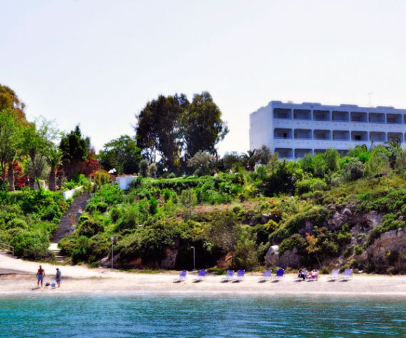 Отель, гостиница в Лутраки, Греция - фото 1