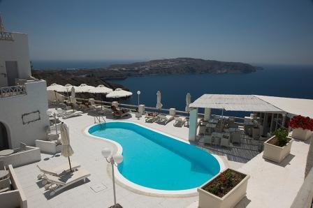 Отель, гостиница на Санторини, Греция - фото 1