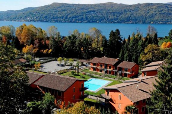 Апартаменты у озера Маджоре, Италия, 64 м2 - фото 1