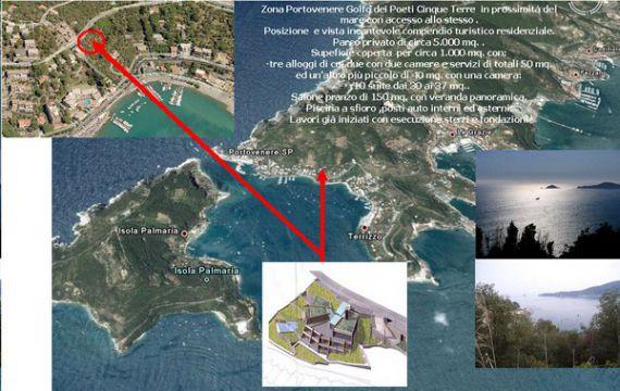 Коммерческая недвижимость в Портовенере, Италия, 1000 м2 - фото 1