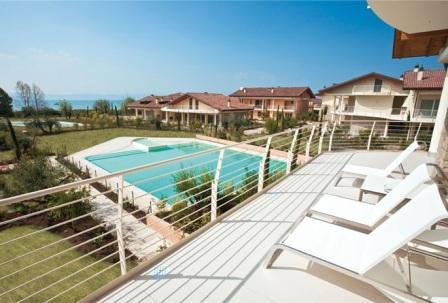 Апартаменты у озера Гарда, Италия, 100 м2 - фото 1