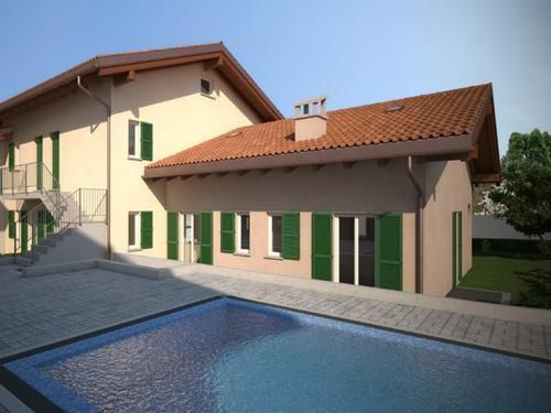 Апартаменты у озера Комо, Италия, 59 м2 - фото 1