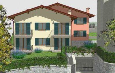 Апартаменты у озера Комо, Италия, 75 м2 - фото 1