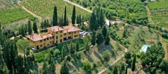 Вилла Тоскана, Италия, 350 м2 - фото 1