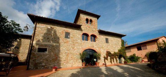 Вилла Тоскана, Италия, 1020 м2 - фото 1