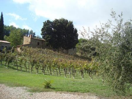 Вилла в Вольтерре, Италия, 320 м2 - фото 1