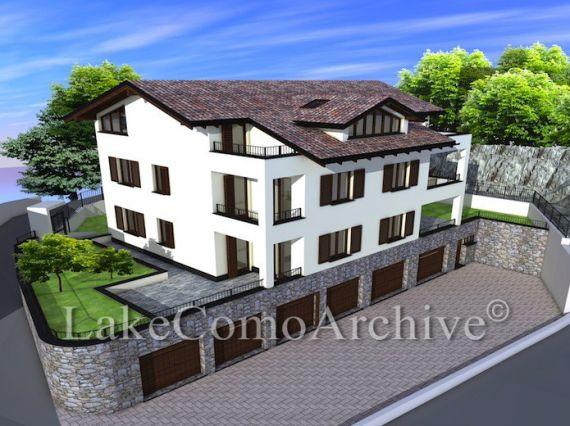 Апартаменты Озеро Комо, Италия, 65 м2 - фото 1