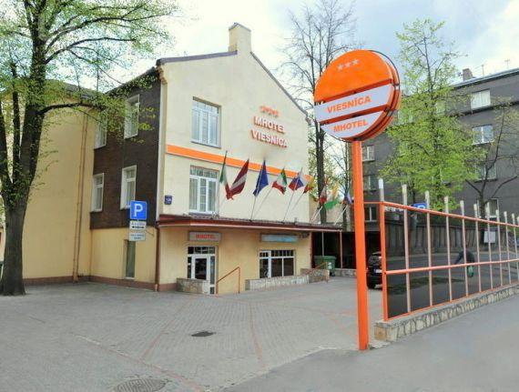 Отель, гостиница в Риге, Латвия, 441.7 м2 - фото 1