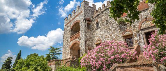 Замок во Флоренции, Италия, 25 Га - фото 1