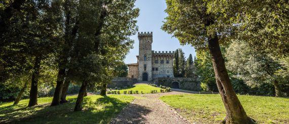 Замок в Кьянти, Италия, 156 Га - фото 1