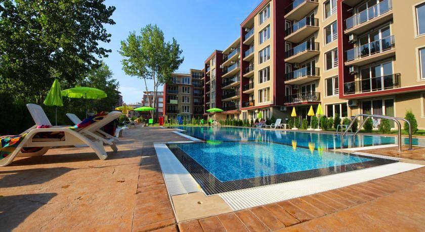 Апартаменты на Солнечном берегу, Болгария, 44.27 м2 - фото 1