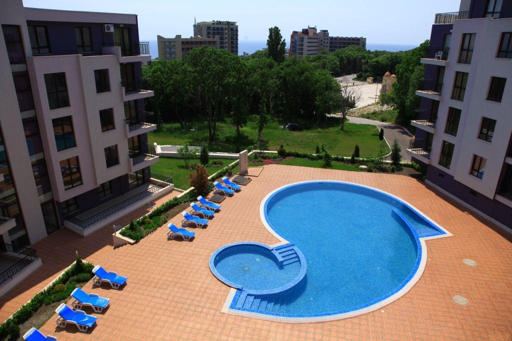 Апартаменты на Золотых Песках, Болгария, 52 м2 - фото 1