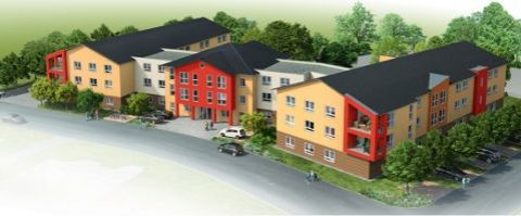 Квартира в земле Рейнланд-Пфальц, Германия, 58 м2 - фото 1