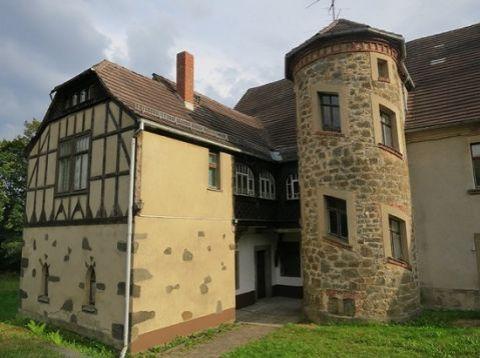 Замок в Саксонии, Германия - фото 1