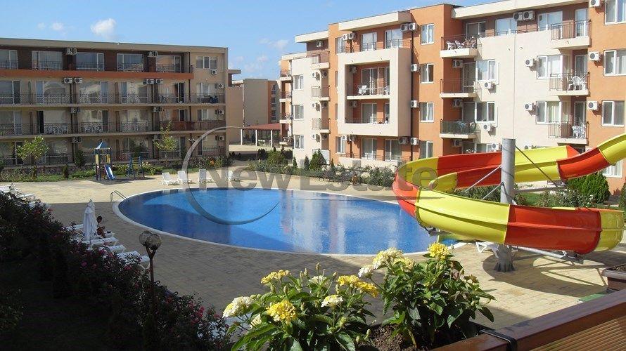 Квартира на Солнечном берегу, Болгария, 56 м2 - фото 1