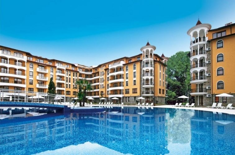 Квартира на Солнечном берегу, Болгария, 81 м2 - фото 1