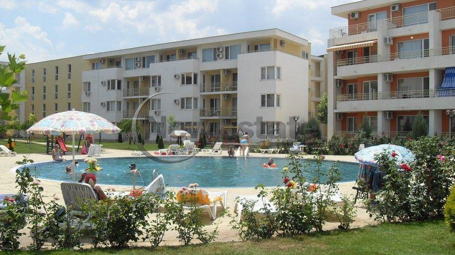Квартира на Солнечном берегу, Болгария, 66 м2 - фото 1