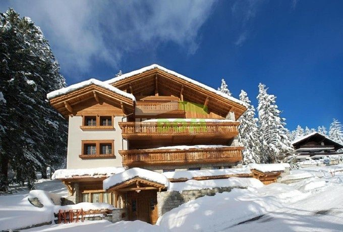 Шале Кран-Монтана, Швейцария - фото 1