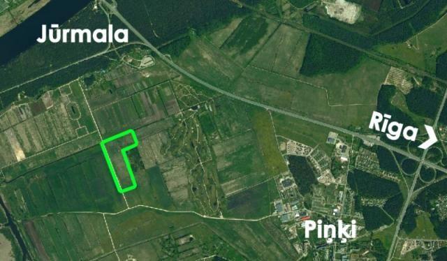 Земля в Пиньки, Латвия, 143000 м2 - фото 1