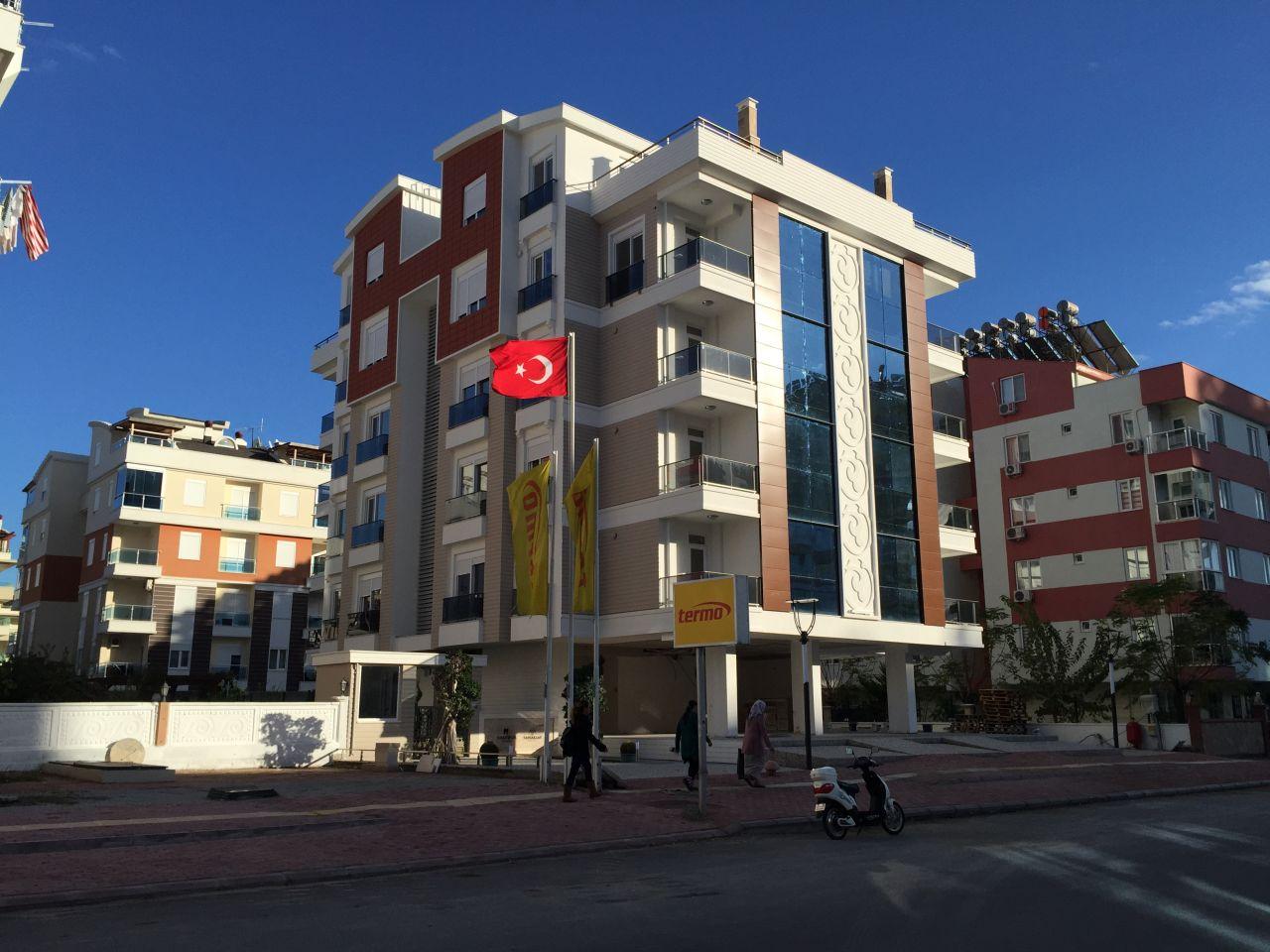 Апартаменты в Анталии, Турция, 90 м2 - фото 1