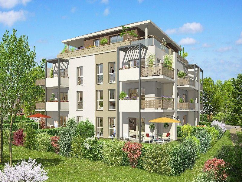 Апартаменты у Женевского Озера, Франция, 46 м2 - фото 1