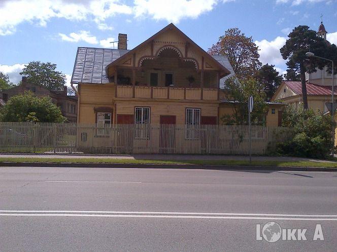 Отель, гостиница в Юрмале, Латвия, 1691 м2 - фото 1